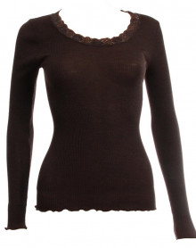 Maillot de corps Manches Longues Oscalito 3416 (Chocolat)