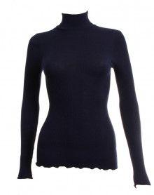 Jersey de cuello chimenea Oscalito 3429 (Azul)