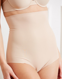 Maxi high waist brief Barbara Azur ( NUDE)
