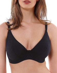 Bra fitting bath Freya Swim Remix (NOIR)