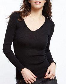 Camiseta manga larga Oscalito 3486 (Negro)