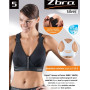 Soutien-gorge de sport Zsport Silver - Maintien Maximum