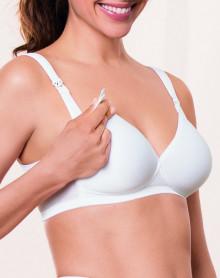 Sujetador sin aros para lactancia Anita Maternity (Blanco)