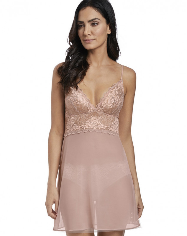 Camisone Wacoal Lace Perfection (Rose mist)