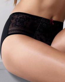 Panty Rosa Faia Fleur (Black)