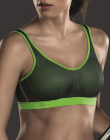 Anita Maximum Support - Air Control Sports Bra (Green / Anthracite )