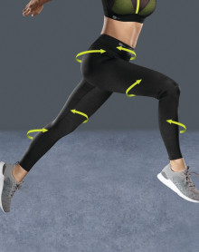 Legging de compression pour le sport Anita active (Noir)