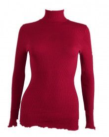 Pull col cheminée Oscalito 3429 (rouge)