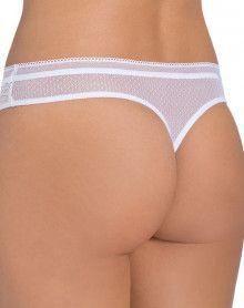 Thong Triumph Beauty-Full Darling (White)