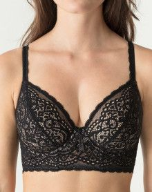 Plunge bra Prima Donna Twist I Do (Black)