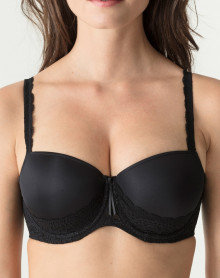Padded balcony bra Prima Donna Twist I Do (Black)