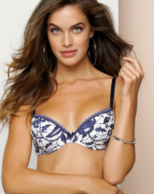 Soutien-gorge coque Antigel Fugue in Blue