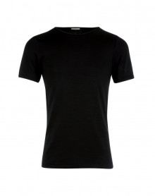 T shirt Col Rond Manches courtes Eminence (Negro)