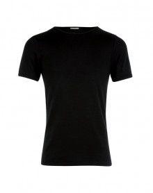 T shirt Col Rond Manches courtes Eminence (Noir)