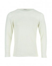 T shirt Col Rond Manches Longues Eminence (Blanc)