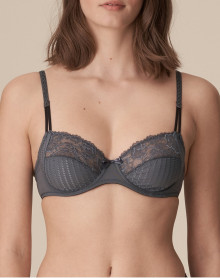 Full cup wire bra Marie Jo Meryl (Satin Grey)