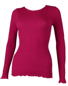 Maillot de corps col rond Oscalito 3446R couleur fuxia.