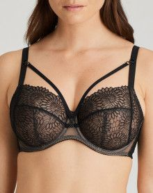 Underwired Bra Prima Donna Sophora (Black)