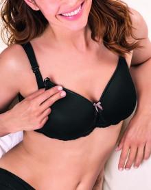 Non-wired nursing bra Anita Maternity Miss Lovely (Black)