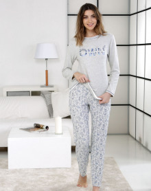 Pyjama gris Own Inspiration Massana
