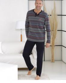 Pyjama chaud matière grattée Massana