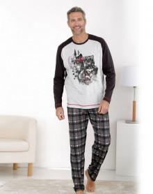 Grey jogging shape pyjama