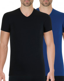 Lot de 2 t-shirts Athena Full Stretch (Noir - Marine)