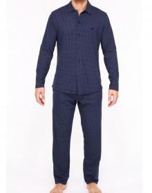 Pyjama Hom Max 100% coton (Marine)