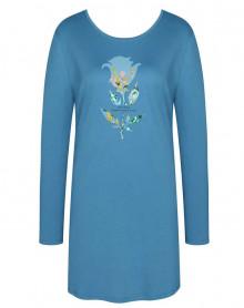 Chemise de nuit 100% coton Triumph (Bleu Neige)