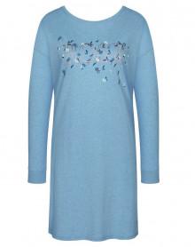 Nightdress hot 100% cotton Triumph (Blue-Light)