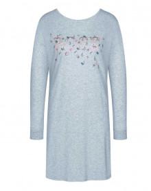 Chemise de nuit chaude 100% coton Triumph (Grey Melange)