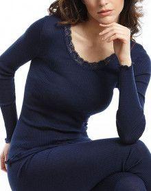 Oscalito Long Sleeve Undershirt 3416 (Blue)