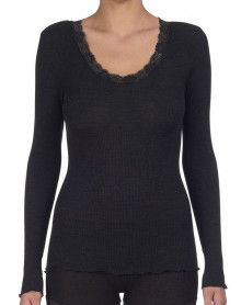 Oscalito Long sleeve Undershirt 3416 (Black)