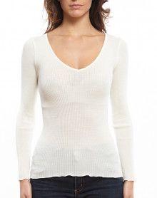 Oscalito V collar Undershirt 3486 (Champagne)