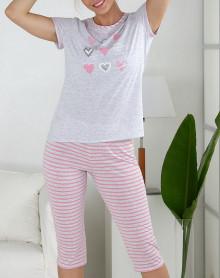 Pyjama avec cœurs Massana