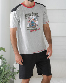 Pyjama short motard Massana