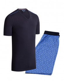 Pyjama Court 100% coton Eden Park (C27)