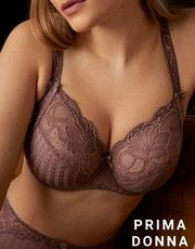 Madison (Satin Taupe) by Prima Donna