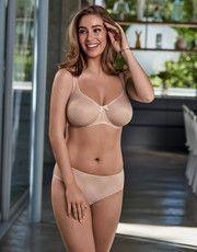 Collection Caroline (Rose Poudré) de la marque de lingerie Rosa Faia